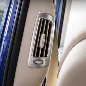 Styling B-Pilar Ar Condicionado Ventilação do quadro Adesivos decorativos Para Mercedes Benz Classe G G63 2019 2020 Acessórios Interior