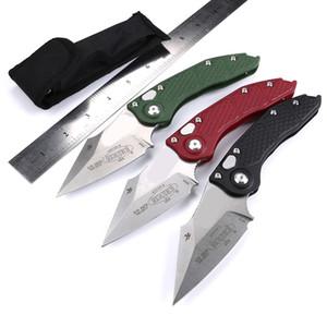 3 couteaux automatiques couleur couteau Benchmade T6061 poignée couteau de poche CNC acier VG10 OUT couteau de chasse BM3300 Camping tactique de survie