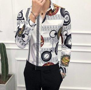 2018 Оптовая дешевые осень и зима мужская с длинными рукавами платье рубашка pure мужская повседневная рубашка поло Оксфорд рубашка социальная Марка одежда