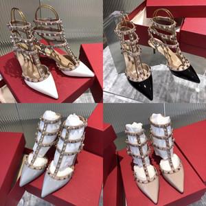 Bas Lucky2020 Rome Bandage bas avec sandales plates femme # 246