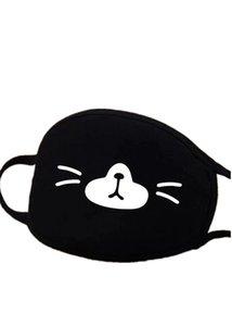 te Persönlichkeit Cotton Mask schwarz Partei Anime Cute Bear Mask Adult Fun Abendkleid Lower Half Face Mouth Muffel Wiederverwendbare fdt56NVXV Maske