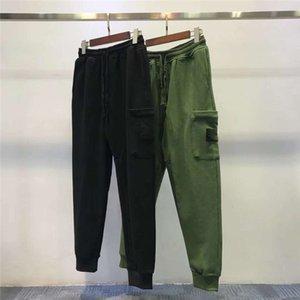 Дизайнер Mens Track Pant Повседневный стиль Мужские Камуфляж бегуны Брюки с Badge Тренировочные штаны Cargo Pant Брюки резинке Гарем мужчин
