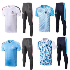 2019 Real Madrid marseille PAYET Soccer Jersey Real Madrid HAZARD THAUVIN POLO Shirt RAMOS MODRIC ASENSIO ISCO Football POLO Uniforms suit