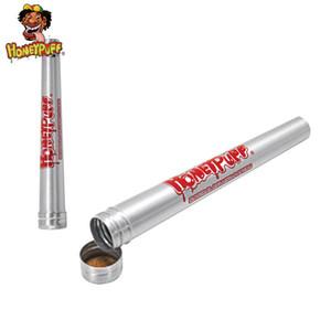 Farklı Boyut Rolling Kağıt hava geçirmez İçin Honeypuff Alüminyum Metal Boru Doob Sızdırmazlık Rolling Koni sigara aksesuarları kokla