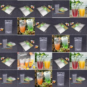Hot Item Clear Juice Disposable Beverage Bags Foldable Drinking Plastic Water Pouch Clear Juice Disposable Beverage Bags Foldable yDALO