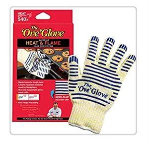venda quente superior qulity Packaging Retail forno luva Ove Glove Como manipulador hotsurface Início golves manipulador