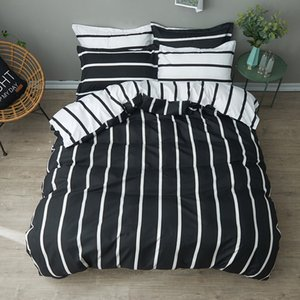 3 4 pcs Luxury Comforter Bedding Sets Modern Duvet Cover King Queen Full Twin Bed Hybrid Cotton Polyester Bed Flat Sheet Set