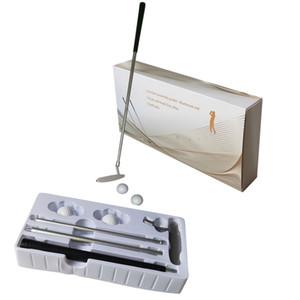 Сочетание гольф клюшка костюм гольфы обучение Ассистивные инструменты Крытая практика набор для начинающей подарочной коробки.