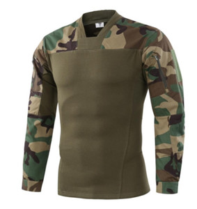 A660-8 Tactical Gear Outdoor Hunting Combat Shirts Camouflage