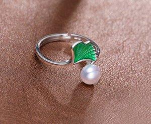 +++ 430 6-7mm voll von starken und hellem Silber Shu Süßwasserperle Ring-Design Pmq6 #