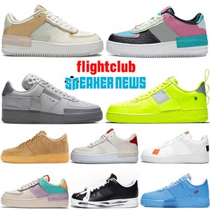 nike air force 1 airforce af1 off white bajo MCA University Blue Utility Volt FLYING Running Shoes N354 Grey Fog Spruce para hombres Mujeres entrenadores deportivos Skateboarding