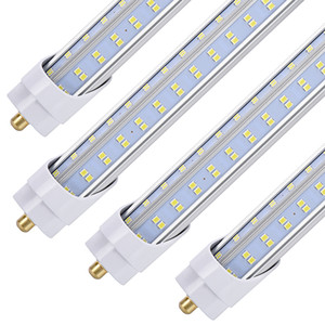 """20PCS 8FT LED Ampul, 96"""" 120 Watt T8 Tek Temiz Kapak, 13000LM Süper Bright, 6000K Beyaz, T8 T10 T12 Floresan Soğuk ile Pin LED Tüpler"""
