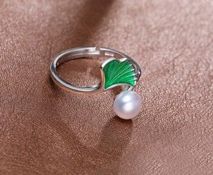 +++ 430 6-7mm voll von starkem und hellem Silber Shu Süßwasserperle Ring-Design E4rE #