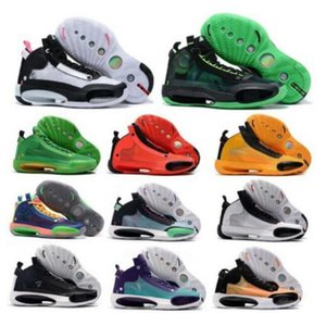 2020 High quality 34s Men Basketabll Shoes Nakeskin