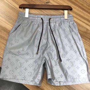 20ss diseñadores de impresión de letras Junta Pantalones cortos para hombre Pantalones cortos BOARDSHORT la playa del verano de surf natación pantalones de marca para hombre Shorts de baño