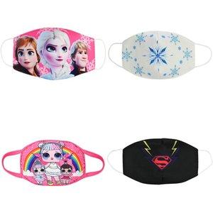 tissu Facemasks masques pour enfants masque enfants jeunes dessin animé masque visage bouche coton masques pour enfants bomull Rousky bwkf sacxk