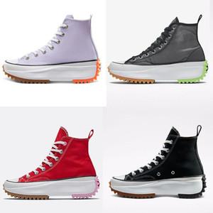 2020 femmes nouvelles chaussures muffin femmes modernes avec semelle en dents de scie super épais et haut haute. JWs Andersons Chuck Run étoile # D0ZV Randonnées pédestres Femmes