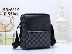 Homens Messenger Bags Pu couro dos homens do desenhista Bandoleira Sacos qualidade bolsa de ombro para homens bolsas de negócios Pastas HT007