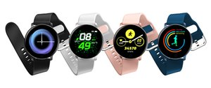 New Fashion Silicone Smart Watch Multifunctional Waterproof Sports Smart Watch for Men and Women CNE Fast Shipping