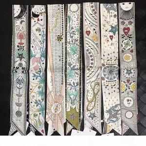 2018 Fashion Bag Trend Nastro maniglia Vendita sciarpa piccolo nastro dei capelli della fascia Bandeaus Girocollo Girl Decoration Drop Shipping ZSBD81
