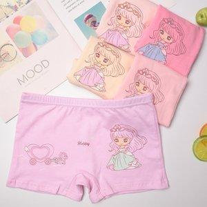 Algodón puro de los niños menores de calzoncillos niñas ropa interior boxer de algodón de dibujos animados RC pantalones del boxeador de la ropa interior del bebé de los niños