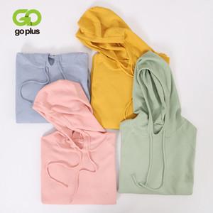 GOPLUS Women's Knitted Jacket Korean Style Sweater Women Hooded Pullovers Oversized Sweaters Jumper Swetry Damskie Pull Femme