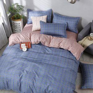 Moda Bedding Set di lusso Rosa Amore della famiglia gruppo di fogli copripiumino federa Re completa singolo regina letto insieme