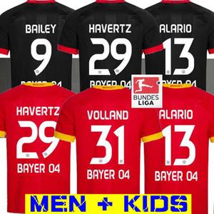 20 21 Leverkusen Soccer Jersey 2020 L.BENDER 2021 Bayer 04 Leverkusen Havertz Jersey DEMIRBAY ALARIO VOLLAND Homme Enfant Football Chemise LOIN