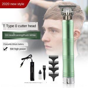 oIeTy adultes salon de coiffure de la tête d'huile de bambou rechargeable maison clipperscissors clipperscratch cheveux Tondeuse électrique professionnelle clippe