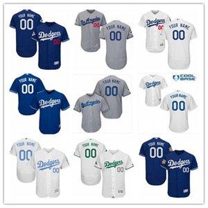 navio livre jérseis de basebol Los Angeles Laos AngelesDodgers Dodger homens mulheres jovens vermelho melhor personalizado camisa branca qualquer número nome