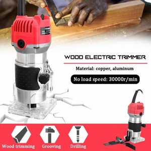 Woodworking Electric Trimming Machine Engraving Electromechanical Wood Milling Copper Motor Wood Electric Trimmer ehAu#