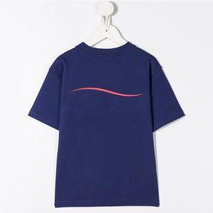 Baby Boys Girls T Shirt Cotton Top Tees per Boy Letter Print Kids Manica Corta Vestiti per bambini Abbigliamento per ragazzi Vestiti