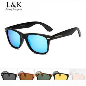 """Lungo Keeper Donna Uomo occhiali da sole polarizzati maschio di guida degli occhiali di protezione UV400 Piazza di marca occhiali di design con """"Long Keeper"""" LOGO 1029"""