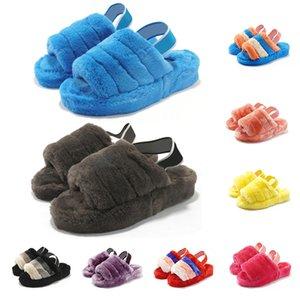 HOt Kalite Terlik 2020 Sıcak erkekler kadınlar sandalet ayakkabı kızlar Klasik siyah Gri sarı pembe patikler 36-44