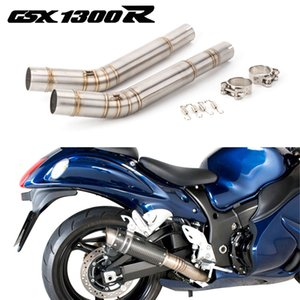 Motorcycle Exhaust Middle Link Pipe Escape mid Connection Pipe System For Suzuki Hayabusa GSX1300R GSXR1300 Hayabusa 2008 - 2017