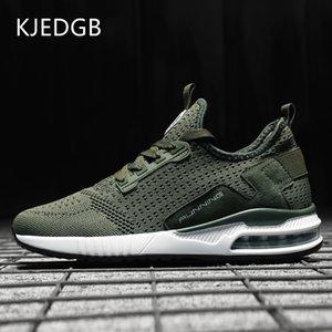 KJEDGB venta caliente unisex Hombres Mujeres zapatillas de deporte de los pares zapatos cómodos ocasionales respirables cesta Hembra del varón adulto de tenis Formadores