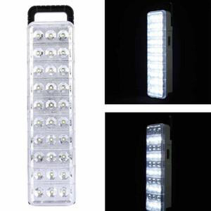 30 60 90 LED Emergency Light Rectangle Led Energy-Saving Fire Rechargeable Emergency Light White Commercial