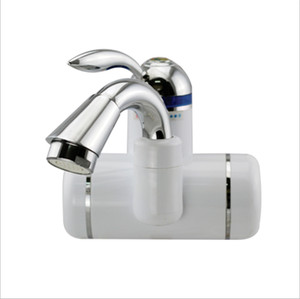 LED instant electric water heater, lower water inlet on the side Suitable for kitchen, bathroom, home,