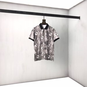 Summer 2020 new short sleeve T-shirt for men and women couples retro loose versatile color black and white S-XXL 501