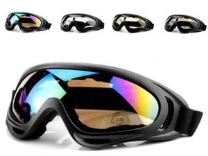 X400 Ciclismo Gafas CS a prueba de viento de cristal gafas deportivas Senderismo Estaciones de gafas de sol gafas de sol de la motocicleta reflectante a prueba de explosiones Gafas