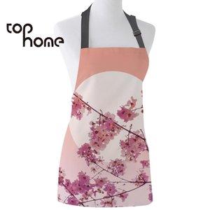 Home PageCasa Grembiule da cucina giapponese Sakura Cherry blossoms maniche Grembiuli Canovaccio stampato per Uomo Donna Bimbo casa pulizia Attrezzi