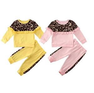 Ropa del bebé fijada a cuadros impresos muchacha del niño con capucha camisas pantalones cortos 2pcs sistemas de camuflaje muchacho de los niños chándal para niños Trajes Body LSK469
