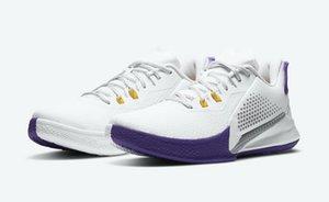 مامبا الغضب لوس انجليس ليكرز الرئيسية أحذية للمبيعات مع الاطفال صندوق العلمية مدرسة البنين الرجال النساء أحذية كرة السلة تخزين الجملة US4-US12