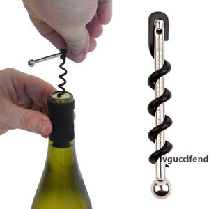 New Stainless steel Multifunctional Mini Outdoor Red Wine Bottle Opener with Keychain Bottle Opener free shipping