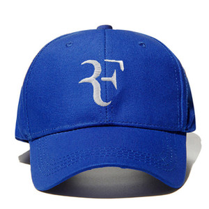 Best Tennis Cap Wholesale-Roger federer tennis hats wimbledon RF tennis hat baseball cap han edition hat sun hat
