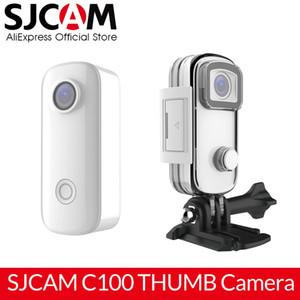 New SJCAM C100 Mini Thumb Camera 1080P 30FPS H.265 12MP NTK96672 2.4GHz WiFi 30M Waterproof Action Sports DV Camera
