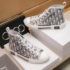 Women Sneakers Lace Up Lightweight Breathable Womens Fashion Sneakers Platform B23 High -Top Sneakers In Oblique Zapatos De Mujer Drop Ship