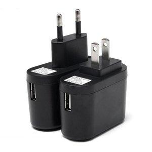 2020 US EU Plug USB parede carregadores 5V1A X258 Travel Adapter Power Adapter Conveniente AC com luz indicadora