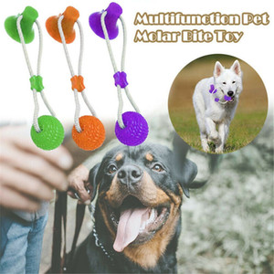 Multifunction Pet Molar Toy Cleaning Teeth Safe Elasticity for Dog Puppy