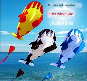 Morbido come delfino balena Weifang Jiutian fabbrica morbido delfino aquilone Nuovo Tiger aquilone balena